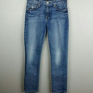7 for all mankind straight leg Kimmie jeans